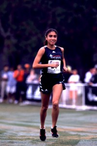 Lake Braddock's Erin Swain at the national finals in 1999. Photo: Courtesy of Footlocker