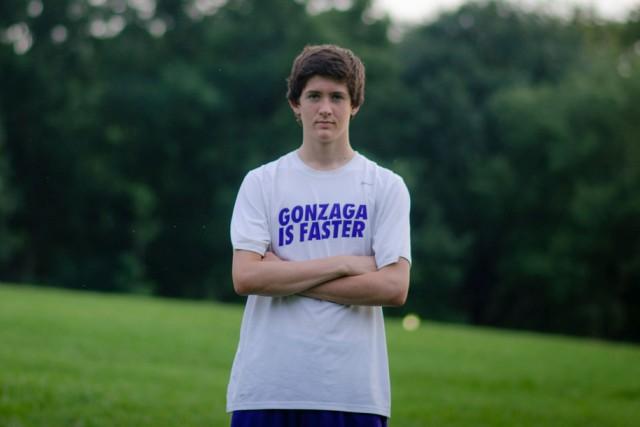 Gonzaga senior Chris Hoyle Photo: Jimmy Daly