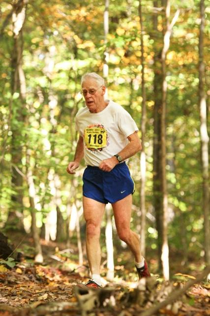 Jack McMahon runs the Black Hills 10k. Photo: Ken Trombatore