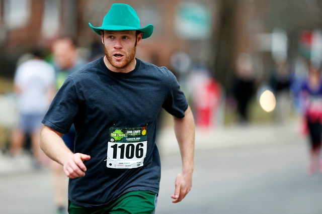 Ever met an Irish cowboy? Say hi to Kramer Keller. Photo: Brian W. Knight/Swim Bike Run Photography
