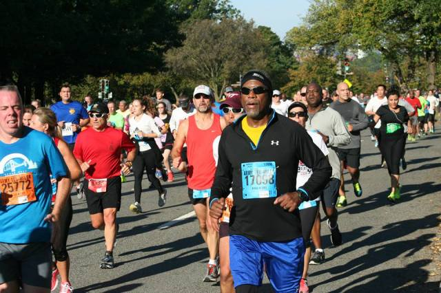 The  2014 Army Ten-Miler. Photo : Charlie Ban