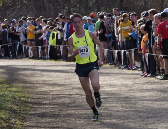 Andrew Hunter during the Foot Locker South regional. Photo: Roger Colaizzi