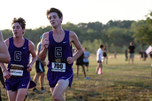 Will McCann and Jack Beckham at the DCXC Invitational. Photo: Dustin Whitlow