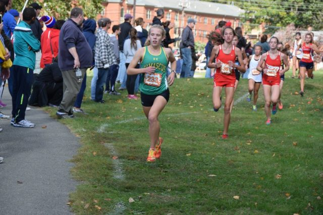 Heather Delaplaine at the Montgomery County Championships. Photo: Charlie Ban