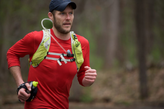 Local ultrarunner Patrick Vaughn. Photo: Kirk Masterson