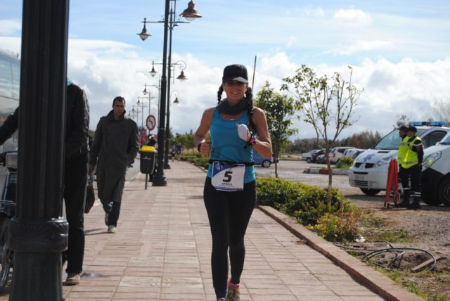 Bethann Telford running in Morocco. Photos courtesy of Telford.